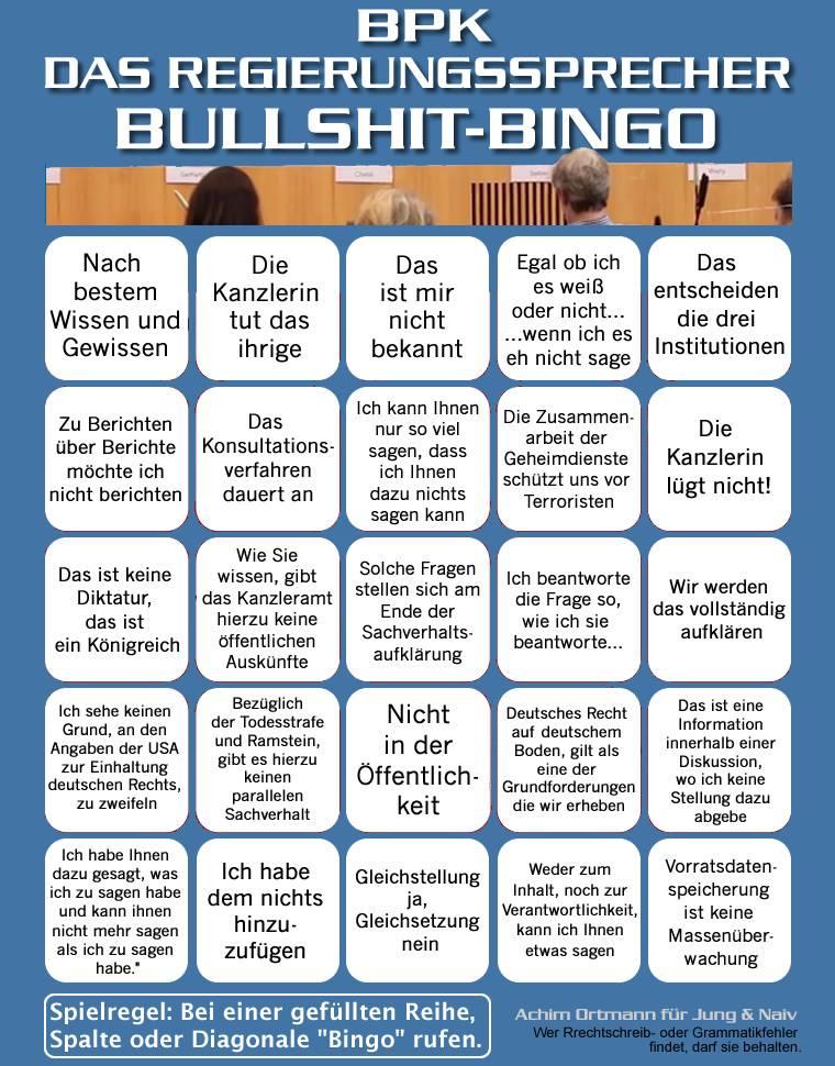 regierungssprecher bullshit bingo