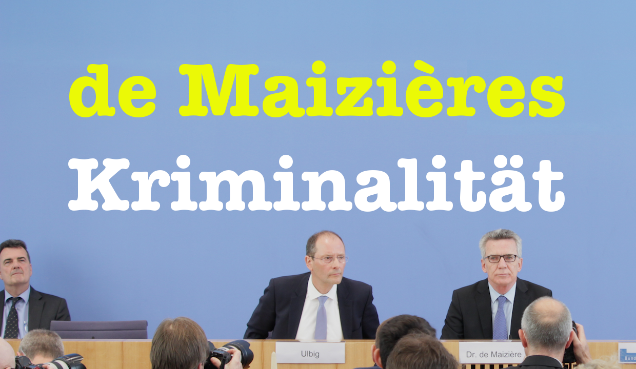 De Maiziere 24 april